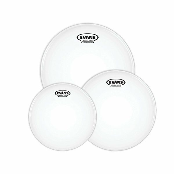 Evans G1 10, 12, 14 inch Fusion Tom drum Pack - Coated - ETP-G1CTD-F